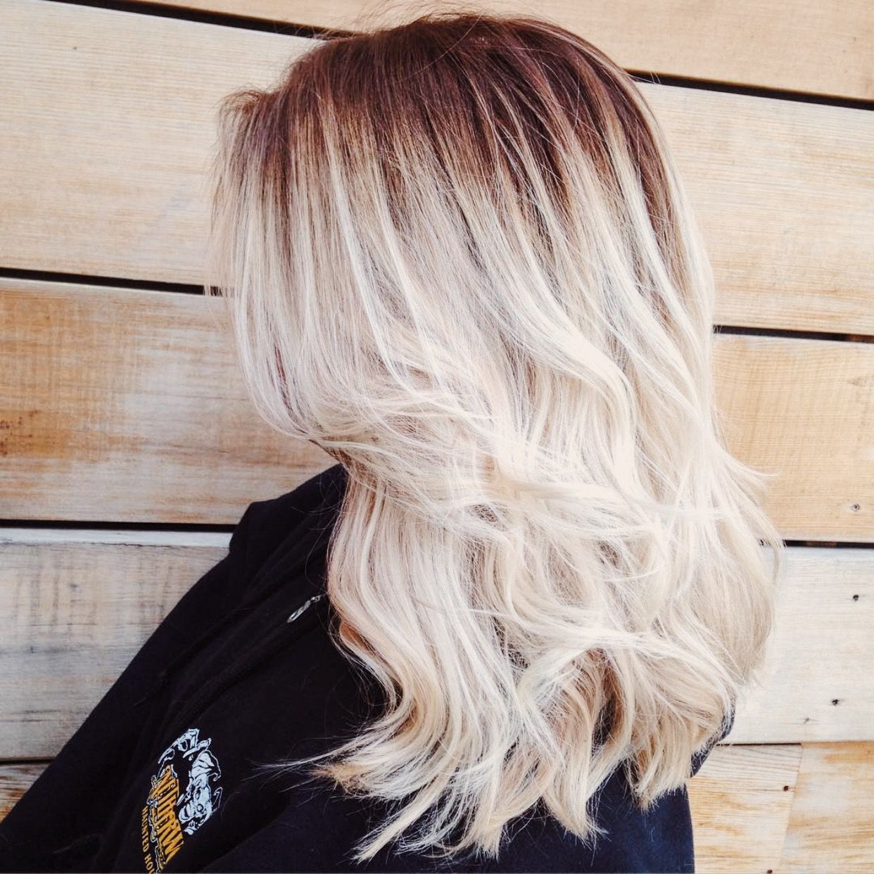Blonde Balayage Hair Medium Length Balayage Blonde Hair Colors