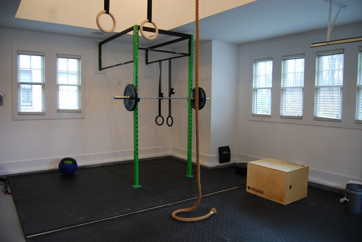 Diy Garage Gym Equipment Crossfit Garage Gym Do You Have A Need For Garage Storage