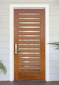 DbyD-5017. This Custom Contemporary Front Entry Door was ...