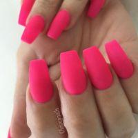 Medium Coffin length #nailcloseups   Nails    Pinterest ...