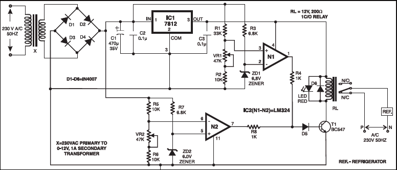 overvoltage protector circuit diagram electronic circuit projects