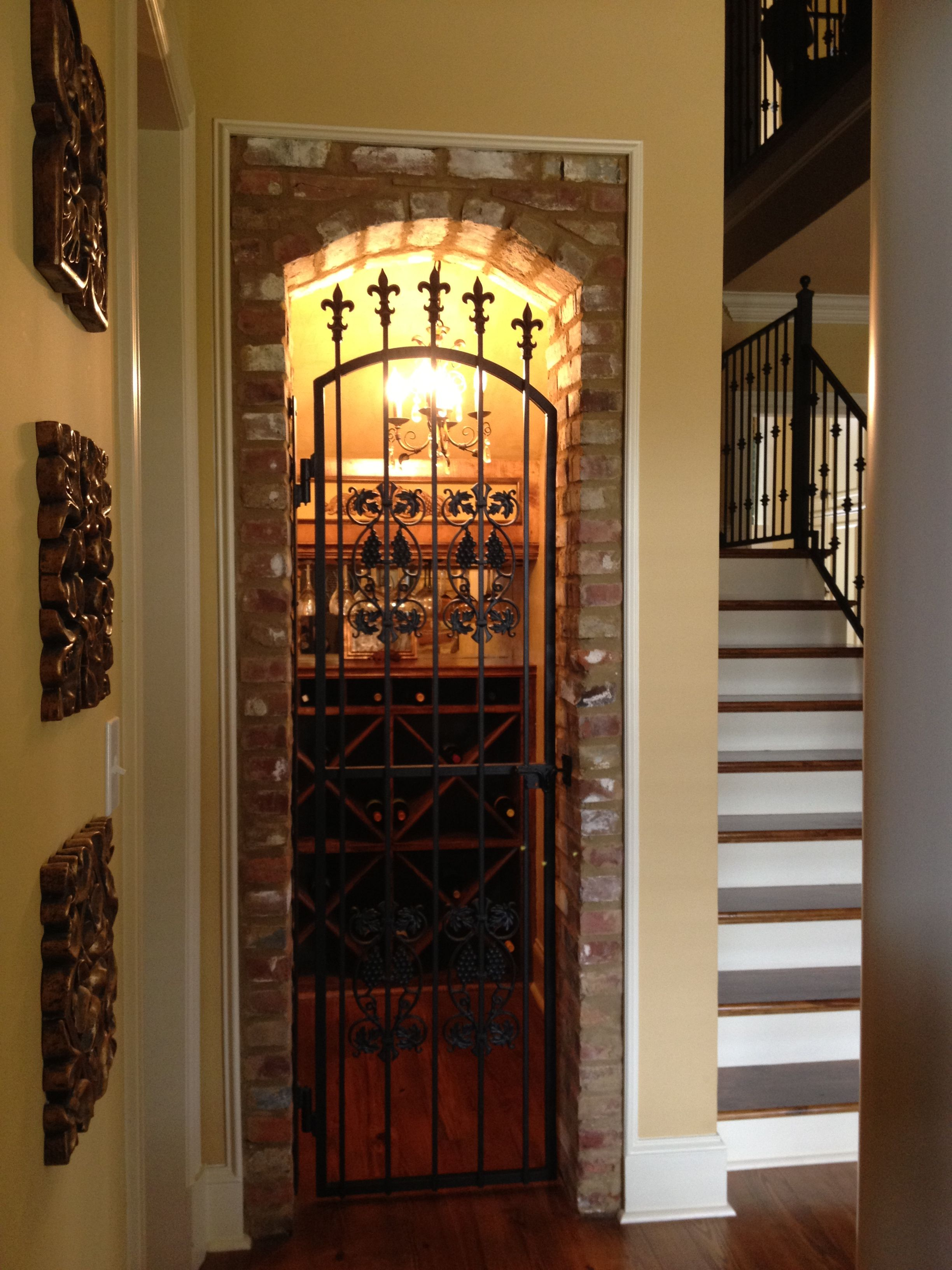 Cellar Door Plans Wine Cellar Wine Closet Under Stairs Wine Closets