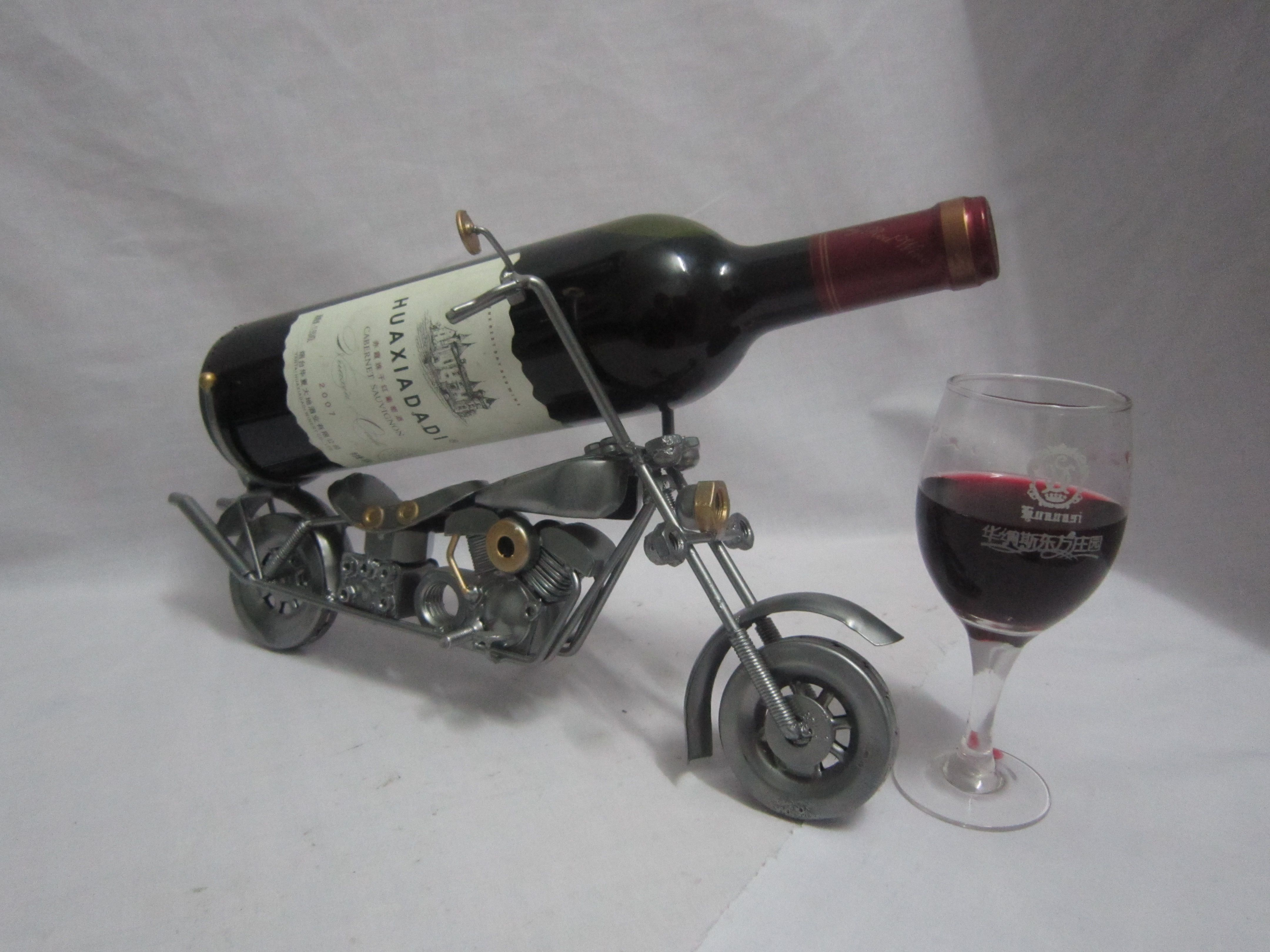 Wine Holders For Gifts Motorcycle Metal Motorcycle Model Wine Caddy Wine Holder