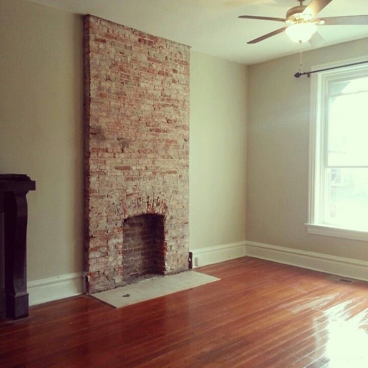 Best 25 Exposed Brick Fireplaces Ideas On Pinterest