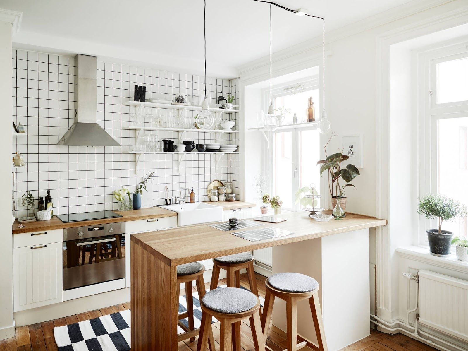 Small apartment with big style