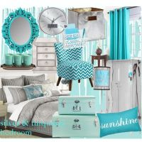 turquoise comforter set | Silver and Turquoise Bedroom ...