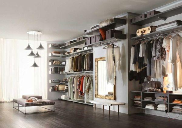 Begehbarer Kleiderschrank planen - 50 Ankleidezimmer schick - ankleidezimmer