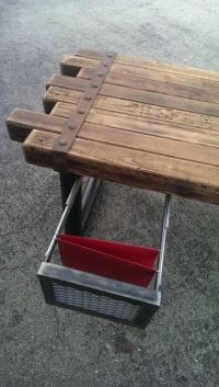 Cedar & Steel Rustic Industrial Desk #039  Industrial ...