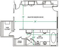 Master Bedroom Floor Plan Ideas - http://www.designbvild ...