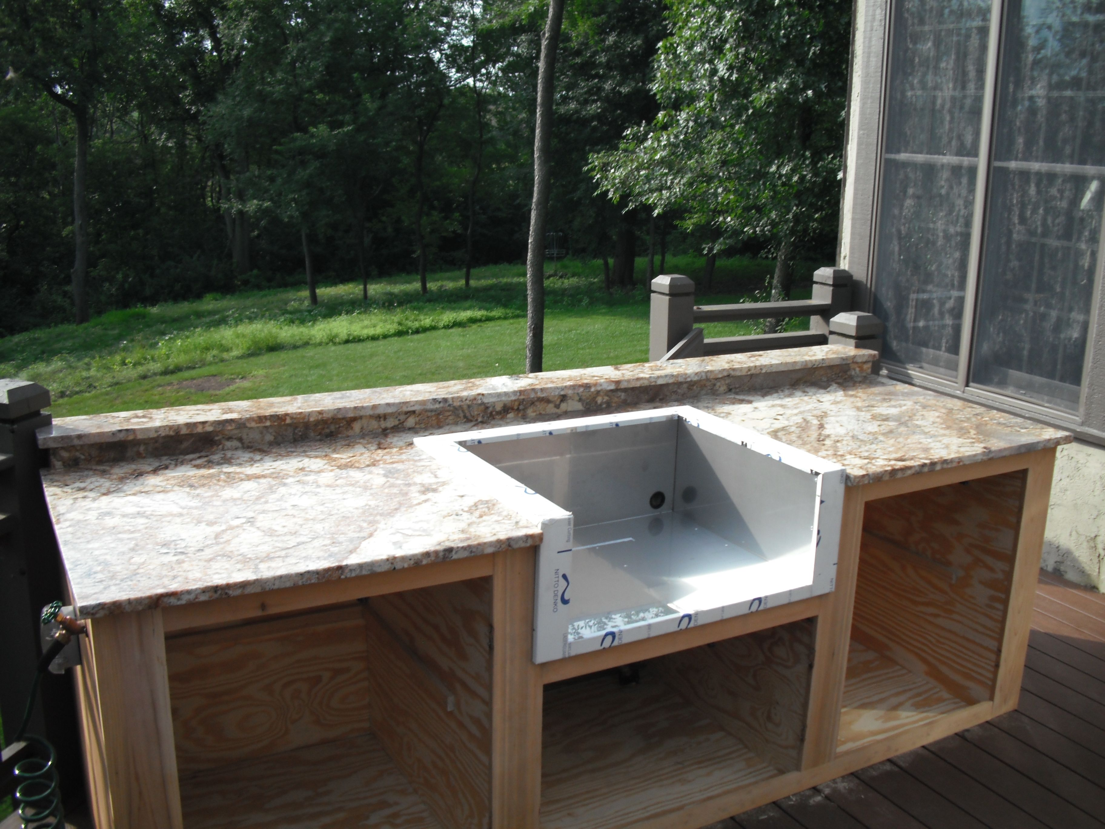 How To Build Outdoor Bar   Easy Outdoor Diy Kitchens Paramount Granite  Blog. Download