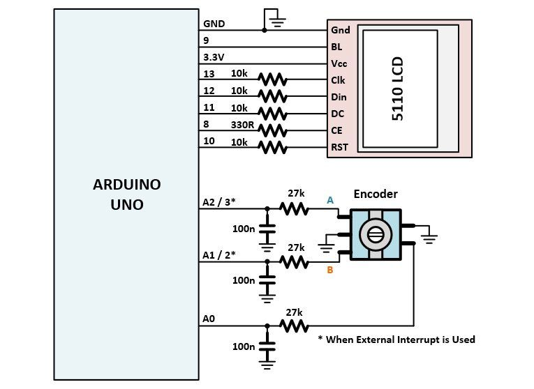 arduino lcd display wiring