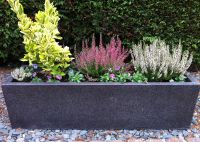 Planters | fibreglass planters, modern trough large ...