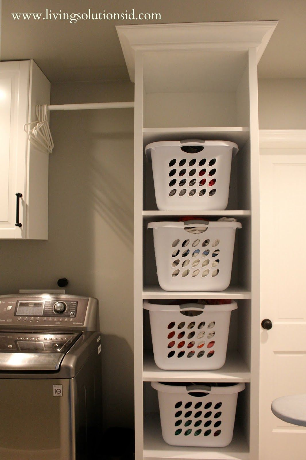 Laundry Basket With Shelves Friday Favorites Favorite Organizing Posts Laundry
