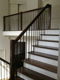 iron baluster styles + modern - Google Search | Stairs ...