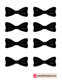 Free Printable Pin the Bow-Tie on the Groom | Free ...
