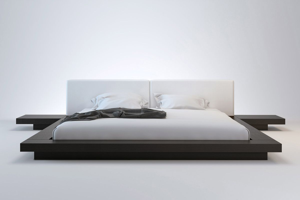 Japanese Inspired Beds Worth Cal King Bed Modern Platform Bed Bed Stores And