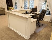 custom build reception desk - Google Search | Property ...