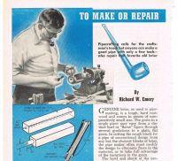 Vintage Pipe Smoking Paper Ephemera, How To Make or Repair ...