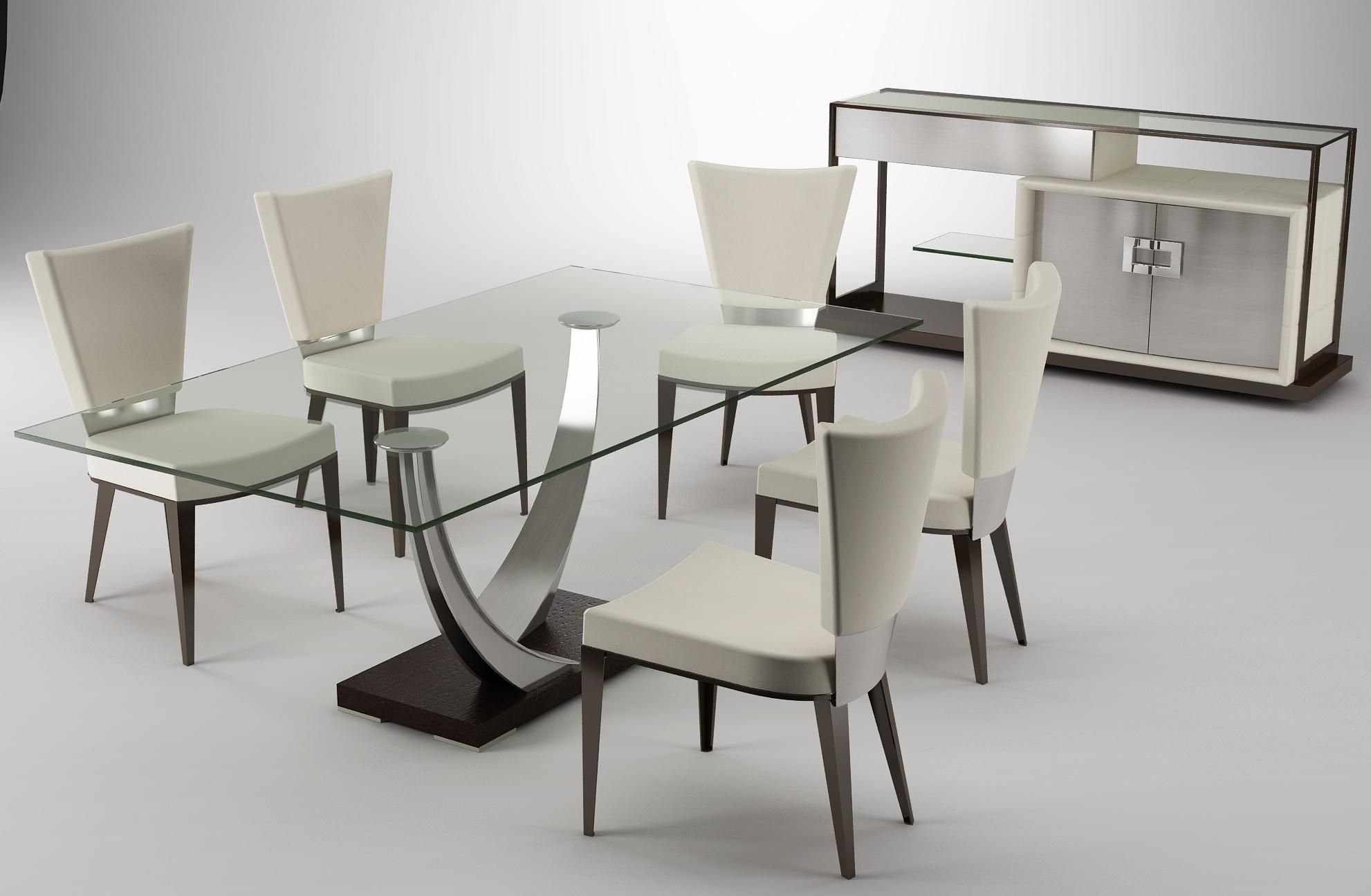 Modern Table Chairs Amazing Modern Stylish Dining Room Table Set Designs Elite
