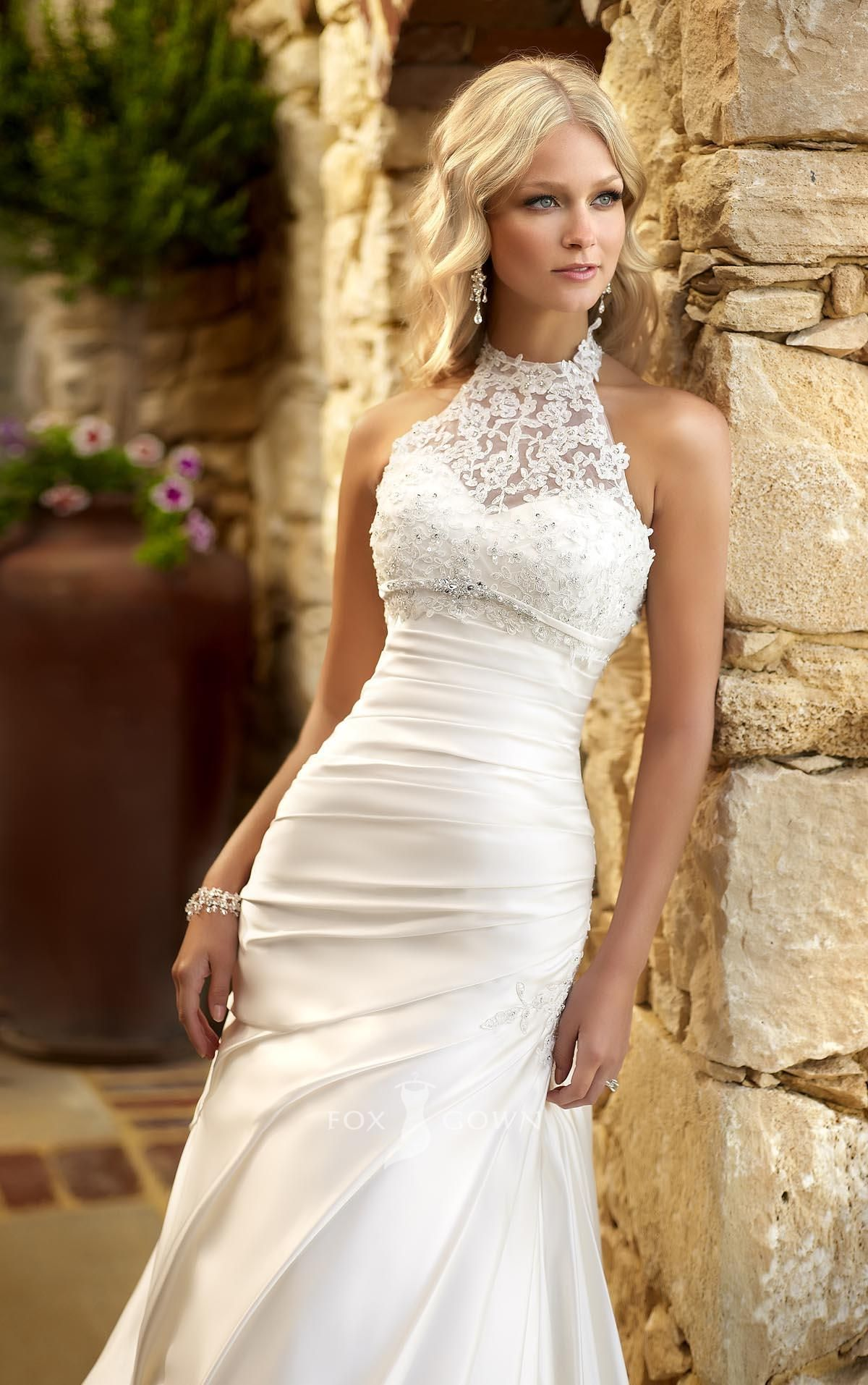 wedding dress with lace 22 Must See Spring Wedding Dress Trends