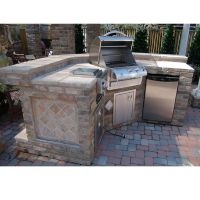Hills Grill Island Project | Grill island and Stone tiles