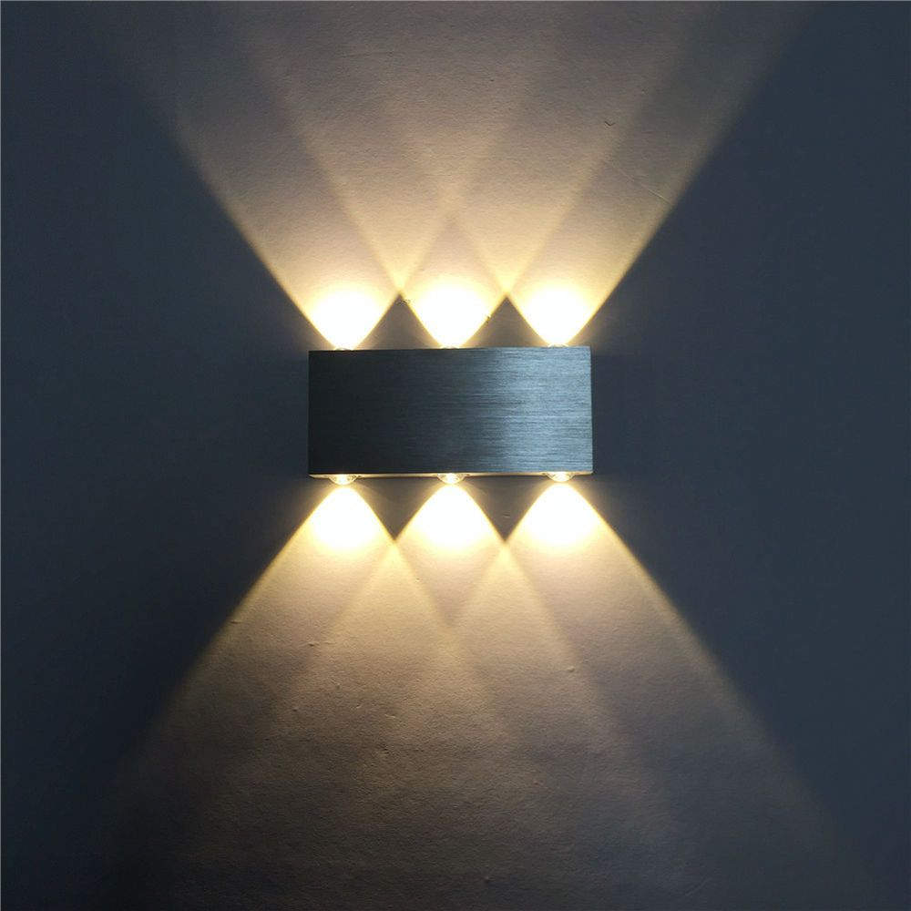 Design Wandleuchte 6w Led Wandlampe Flurlampe Wandstrahler