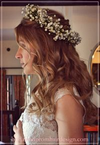 Wedding Hairstyles Half Up Half Down With Flower | Fade ...