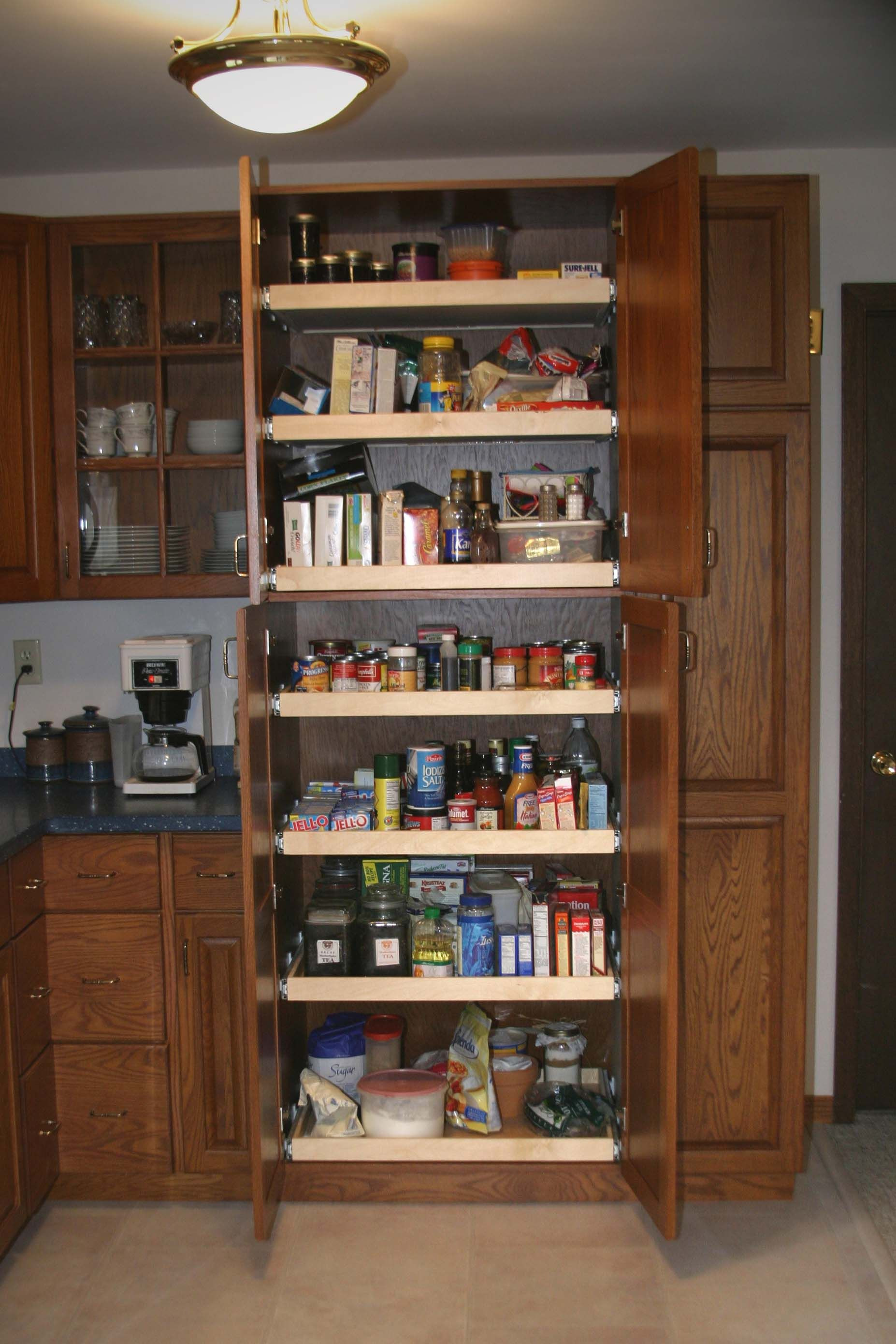 32 Kitchen Cabinet Kitchen Cabinets Pull Out Pantry Pantry This Pantry Is
