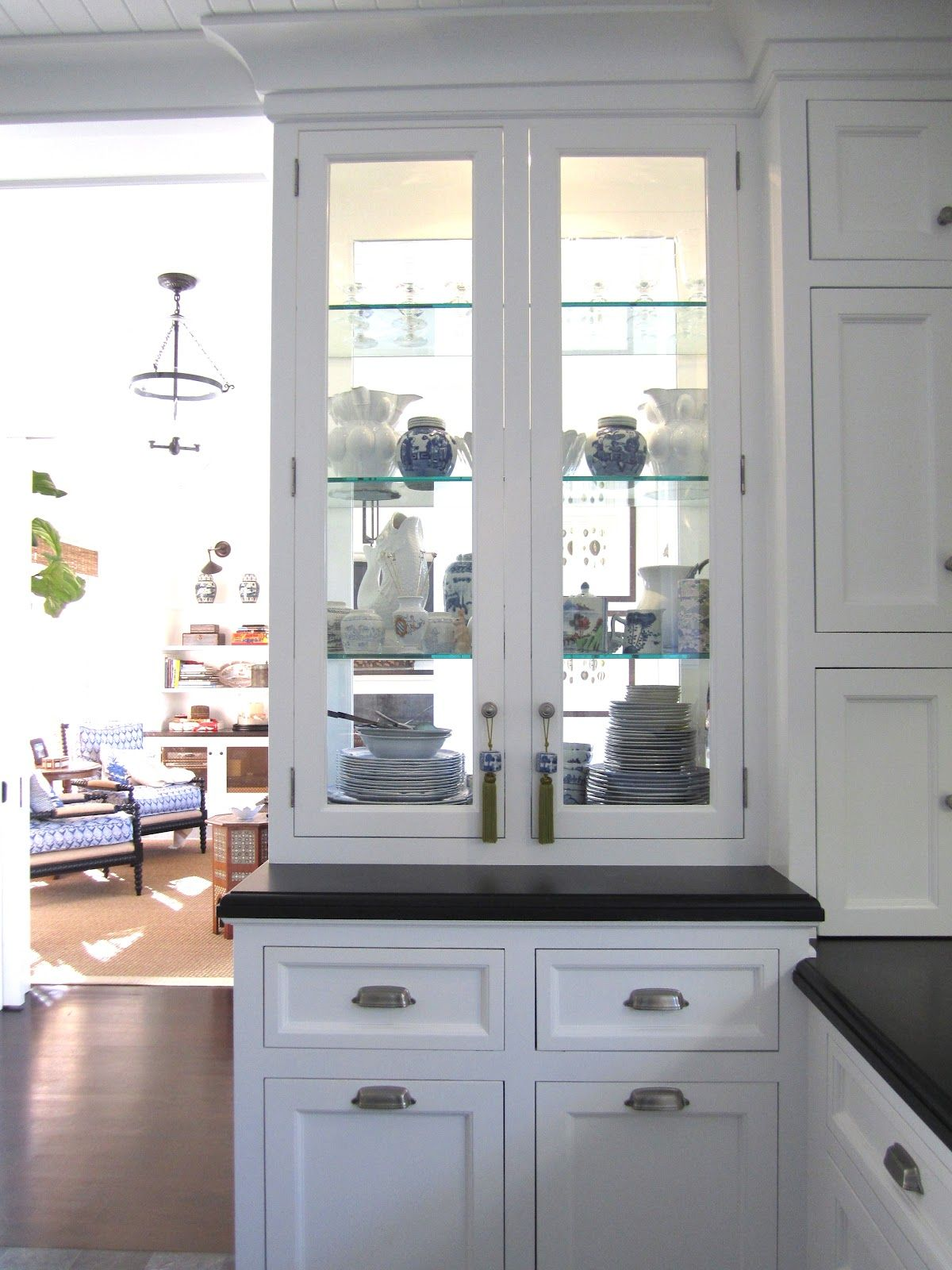 Kitchen Cabinet China Double Sided Glass China Cabinet Kitchen Remodel