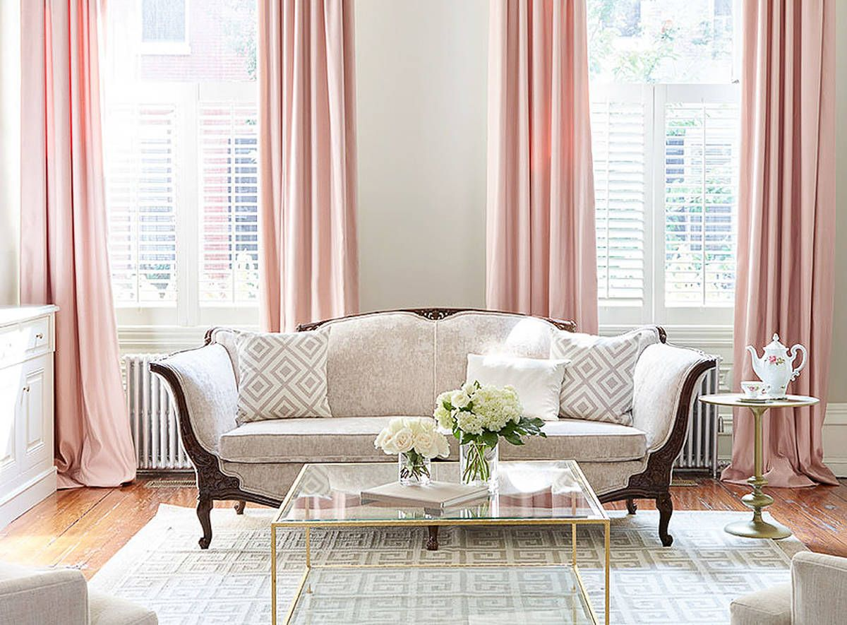 Pink And Grey Living Rooms Home Inspiration Decorating With Blush Pink Pink