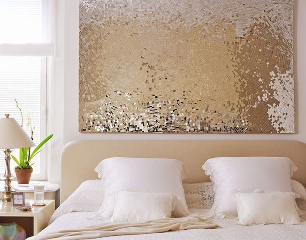 43 Most Awesome DIY Decor Ideas for Teen Girls Sequin wall, Diy - diy ideas for bedrooms