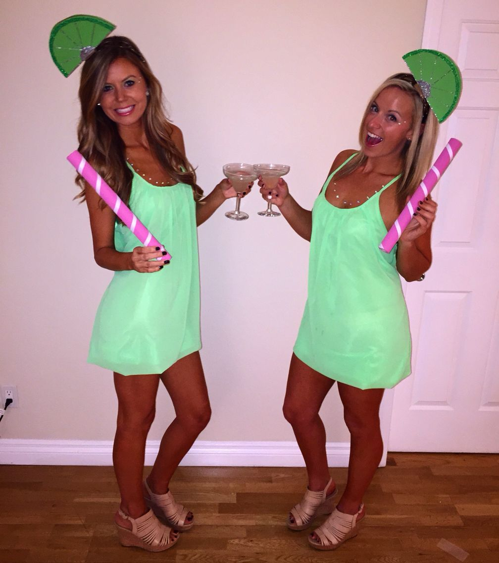 Diy Margarita With Lime Halloween Costume Feeling Crafty