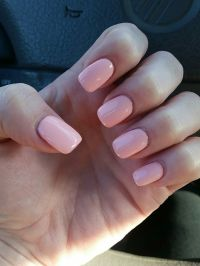 New nails! Short acrylic with shellac. | Beauty ...