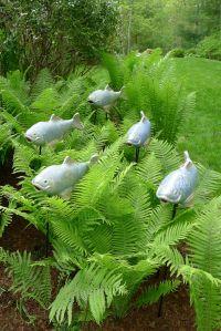 14 DIY ideas for your garden decoration 2 | Fish ...