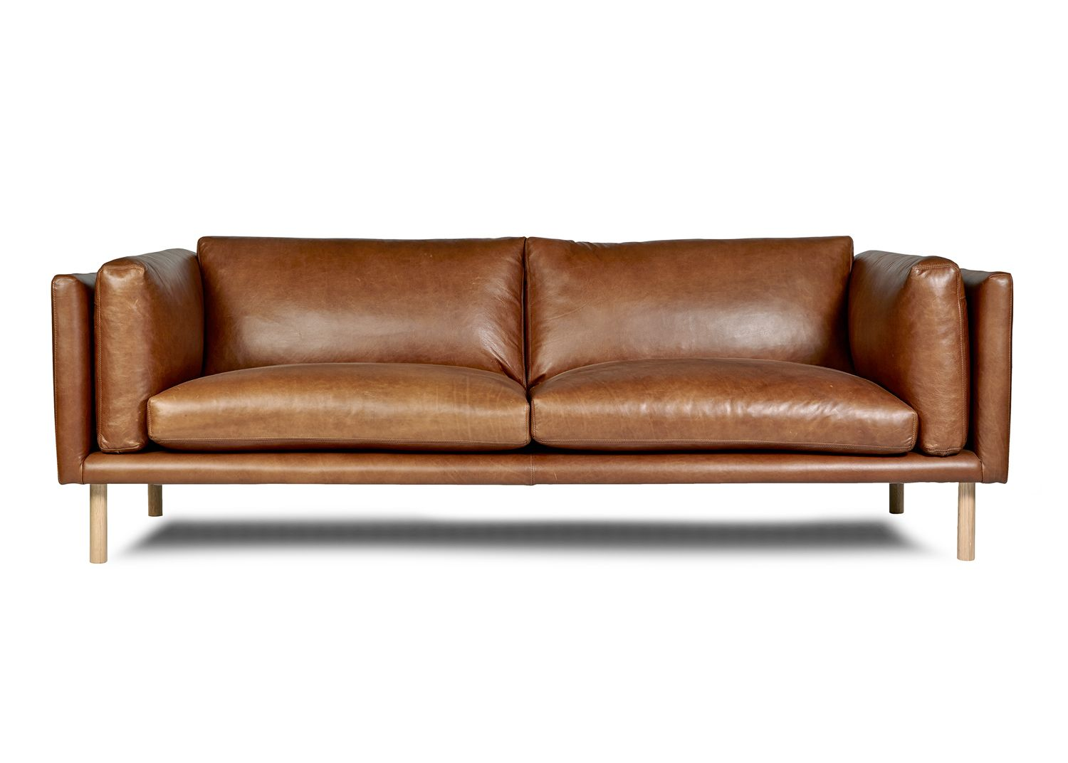 Couches Perth Conrad Sofa By Arthur G Modern Leather Sofa Made In
