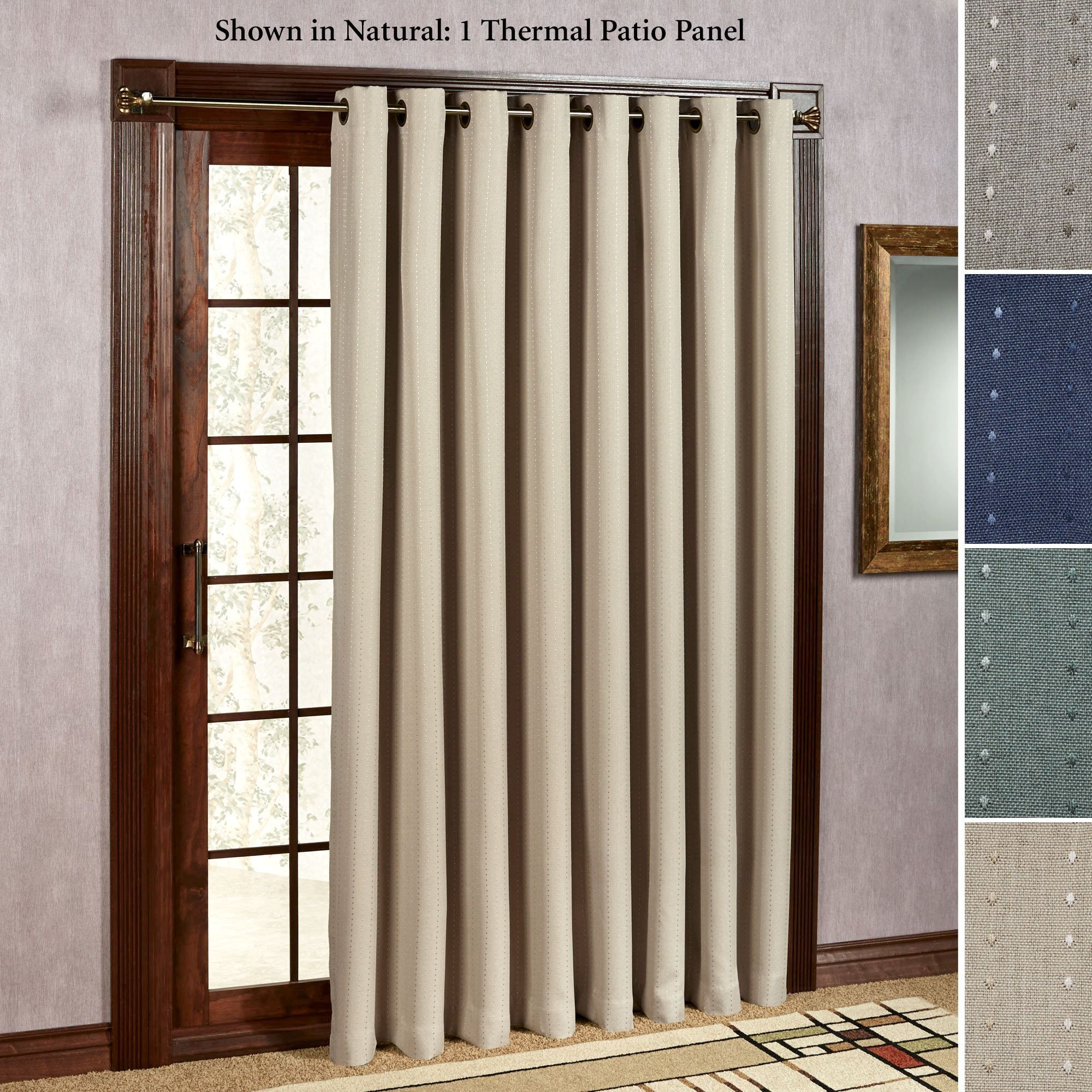 Curtains For Large Patio Doors Thermal Drapes Sliding Glass Doors Http Togethersandia