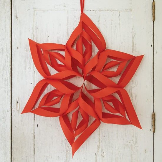 How to make Christmas decorations Decoration, Papercraft and - christmas star decorations