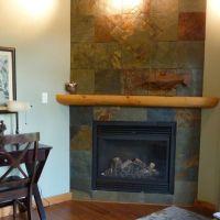 Destination decoration | Slate fireplace, Slate and ...