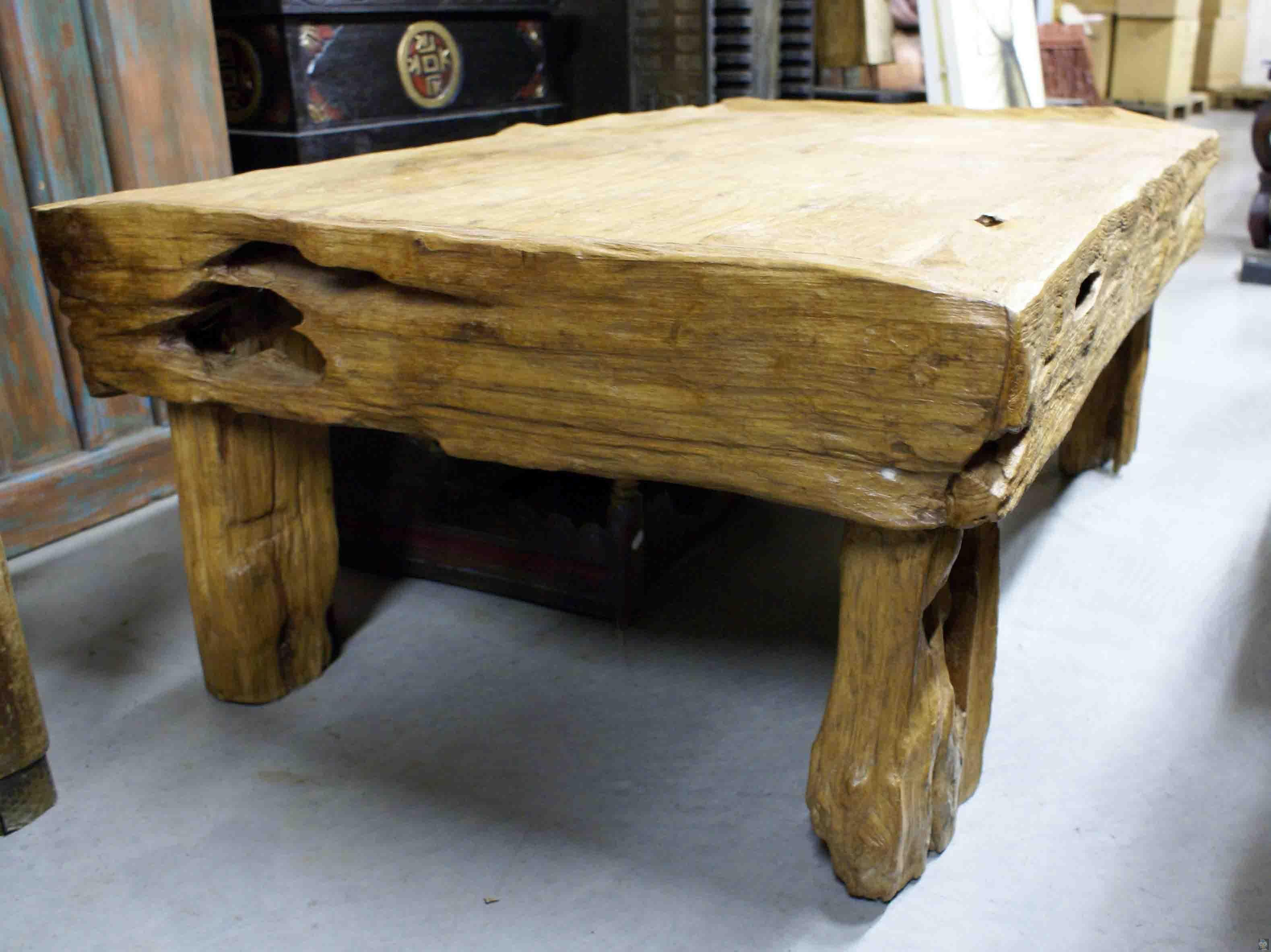 Table Bois Brut Table Bois Brut
