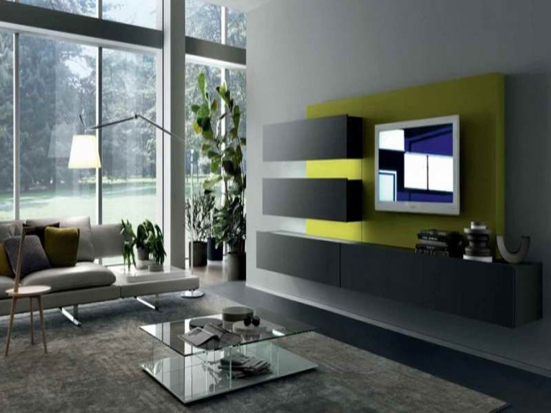 Wall Mounted Television Decorating Ideas