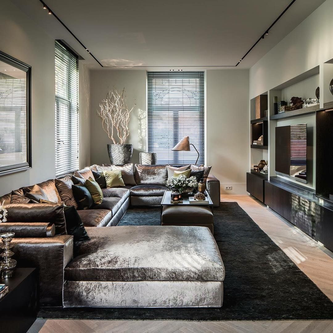 Luxurious Living Room Design Luxury Interior Design Luxurious Living Pinterest
