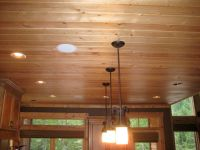 knotty pine kitchen ceiling? | D Kitchen idea | Pinterest ...