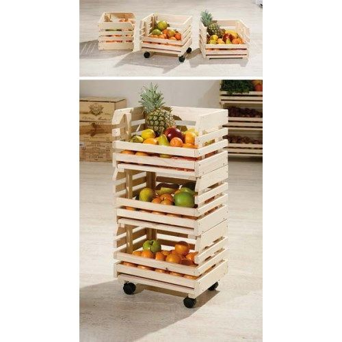 Minya Small Fruit And Vegetable Storage Rack We Could
