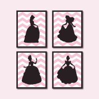 Princess Silhouette Quad