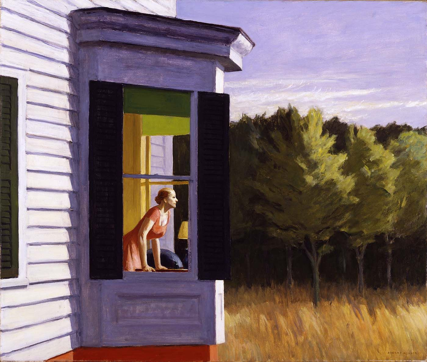 La Chambre A New York Edward Hopper Edward Hopper Art Hopper Fenêtre Peinture Window