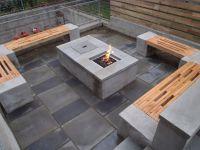 Cinder Block Fire Pit Bench Ideas | Stuff | Pinterest ...