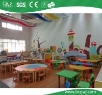 Guangzhou Cheap Daycare Furniture Kids Table And Chair Set ...