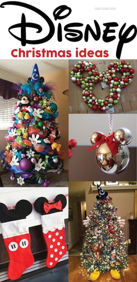 DISNEY CHRISTMAS ideas - I love that treemust try! Want - disney christmas decorations