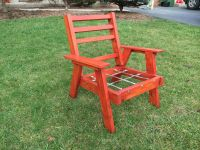 Vintage redwood style patio furniture | The Wooded Knoll ...