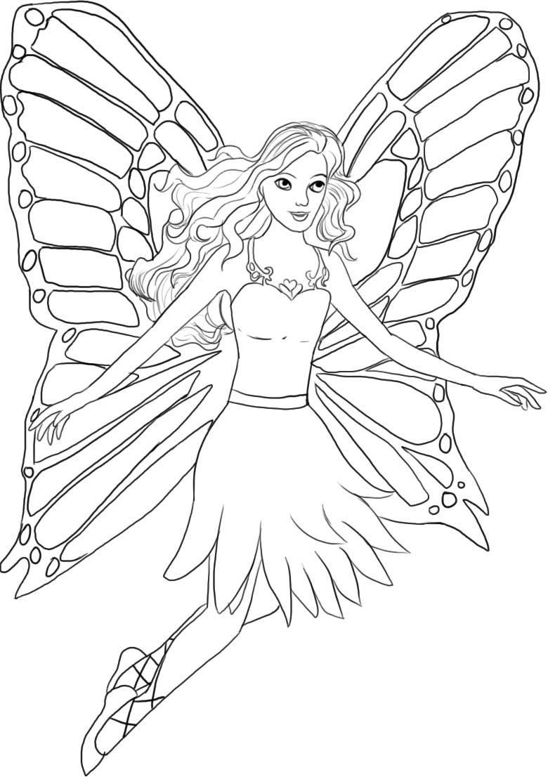 Coloring Pages Barbie Free